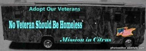 The Mission in Citrus Celebrates Their Seventh Year of Helping Homeless Veterans, Men,Women, and Children